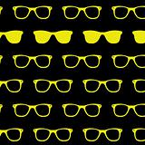 Retro Sun glasses background classic wayfarer sunglasses