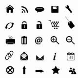 Web, e-commerce, e-business icons