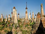 Buddhist Stupas. Indein