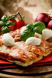 Pizza with Buffalo Mozzarella