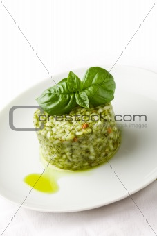 Risotto with Basil
