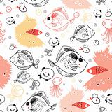pattern of fish