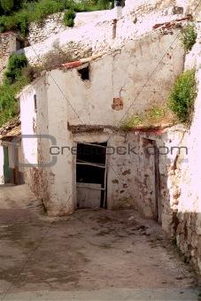 Alcala del Jucar (Albacete) rural town, top 100 most beautiful villages in Spain