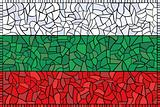 creative bulgaria national flag