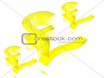 British Pound Sign 5