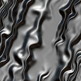 Rippled metal