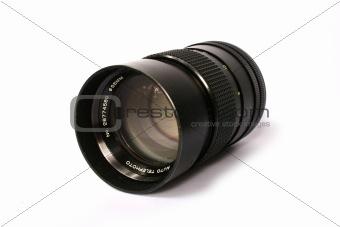 camera lens - front