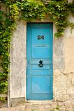wooden door in france
