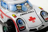 tin toy ambulance
