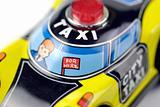 tin toy taxi