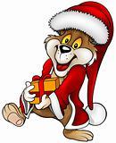 Santa Bear and Gift