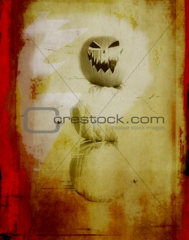 grunge spooky halloween background