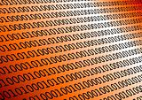 Binary in orange