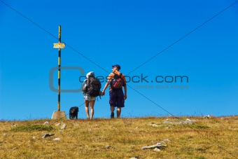 Couple and a Sign