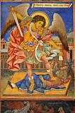 Archangel Michael Fresco