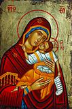 Greek icon