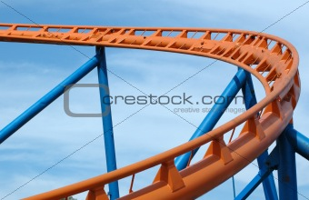 Roller Coaster Track.