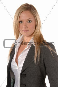 Attractive office worker