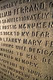 Carved Stone Words