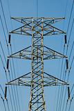 electrical power lines symmetrical