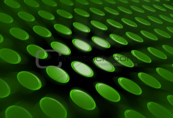 Abstract Green Buttons background