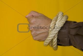 Captive men