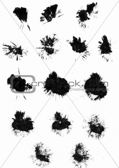 Paint Brush Mark-making
