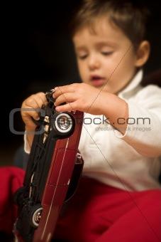 boy playing