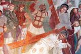 Crucifixion fresco