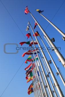 Flags of European states