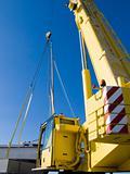 Autocrane unload a ship