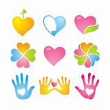 icon-set-love-peace