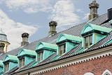 Ornate roofs and windows