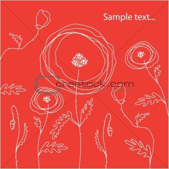postcard-poppy
