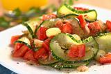 Zucchini, Tomato and Corn Dish
