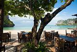 Open Air Beach Restaurant Railay