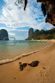 Beach Karst Cliff Phra Nang Railay