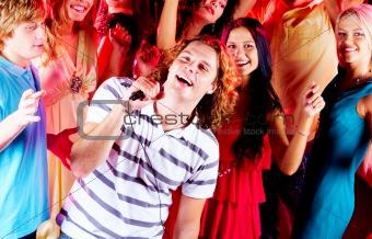 Singing guy