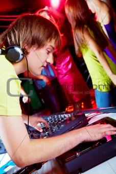At disco