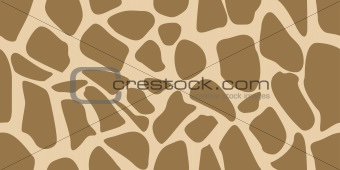 A skin of giraffe, seamless