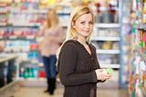 Grocery Shopping Young Woman