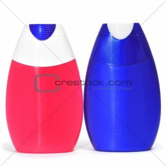 toothpaste bottles
