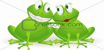 Couple frog