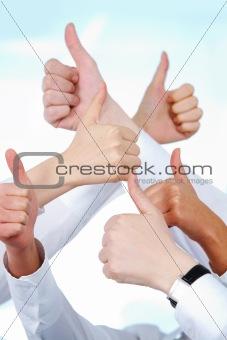 Positive gesture