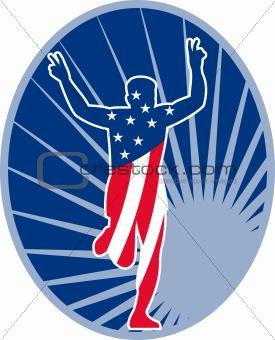american marathon runner run race