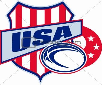 american rugby ball shield usa