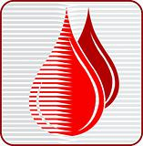 blood drops logo
