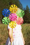 Pinwheel in hand