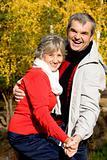 Aged couple