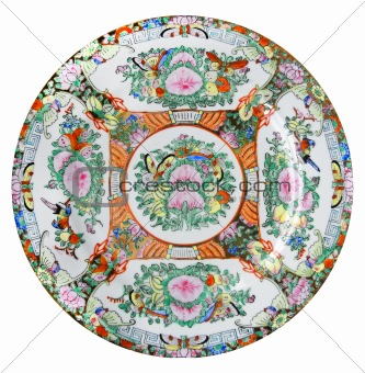 One chinese plate
